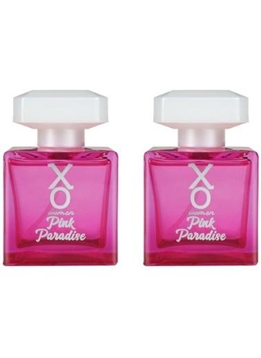 Xo Xo Pink Paradise Women Edt Parfüm 100 Ml X 2 Adet Renksiz